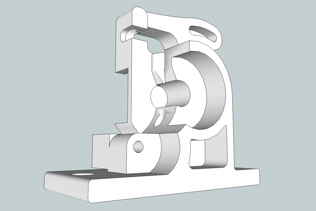 reprap-extruder-sketchup-model